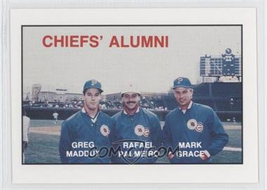 1988 Kodak Peoria Chiefs - [Base] #MPG - Greg Maddux, Rafael Palmeiro, Mark Grace
