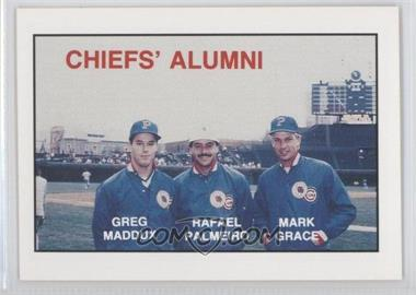 1988 Kodak Peoria Chiefs #N/A - Greg Maddux, Rafael Palmeiro, Mark Grace
