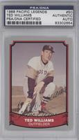 Ted Williams [PSA/DNA Certified Auto]