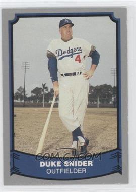 1988 Pacific Baseball Legends #55 - Duke Snider