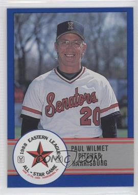 1988 ProCards Eastern League All-Star Game #18 - Paul Wilmet