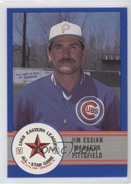 1988 ProCards Eastern League All-Star Game #E-47 - Jim Essian