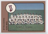 Idaho Falls Braves Team Photo
