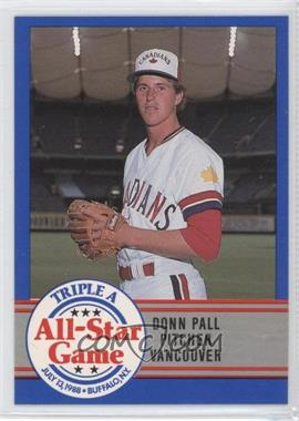 1988 ProCards Triple A All-Star Game - [Base] #45 - Donn Pall