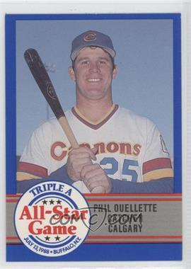 1988 ProCards Triple A All-Star Game #7 - Phil Ouellette