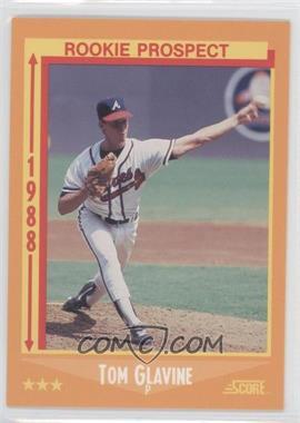 1988 Score #638 - Tom Glavine