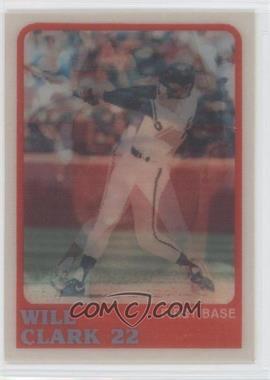 1988 Sportflics #9 - Will Clark