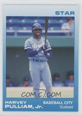 1988 Star Baseball City Royals - [Base] #19 - Harvey Pulliam