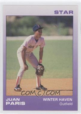 1988 Star Winter Haven Red Sox - [Base] #19 - Juan Paris
