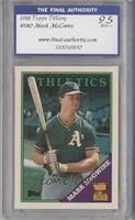 Topps All-Star Rookie - Mark McGwire [ENCASED]