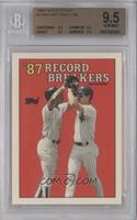 '87 Record Breakers - Don Mattingly [BGS 9.5]