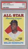 All Star - Willie Randolph [PSA 9]