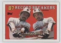 '87 Record Breakers - Eddie Murray (Corrected: Black Box on Front)