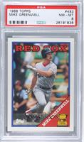 Topps All-Star Rookie - Mike Greenwell [PSA8]