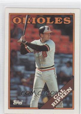 1988 Topps - [Base] #650 - Cal Ripken Jr.