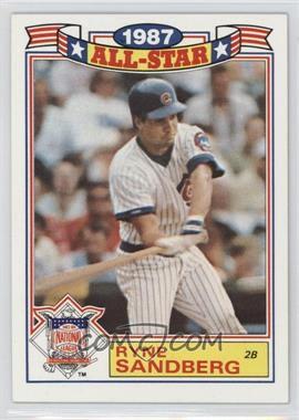 1988 Topps - Rack Pack Glossy All-Stars #14 - Ryne Sandberg