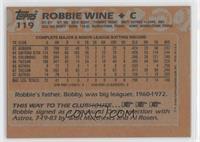 Robbie Wine