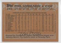 Phil Lombardi