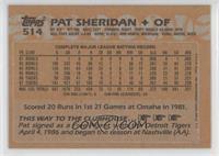 Pat Sheridan