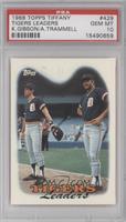 1987 Team Leaders - Detroit Tigers Team [PSA10]