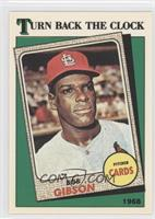 Turn Back the Clock - 1968 Bob Gibson