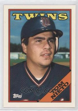 1988 Topps Collector's Edition (Tiffany) #317 - Tom Nieto