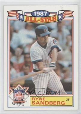1988 Topps Rack Pack 1987 All-Star #14 - Ryne Sandberg