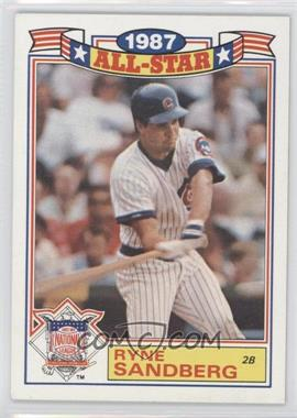1988 Topps Rack Pack Glossy All-Stars #14 - Ryne Sandberg