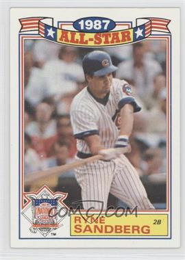 1988 Topps Rack Pack Glossy All-Stars #14 - Ryne Sandberg