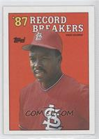 '87 Record Breakers - Vince Coleman