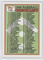 Checklist - 1-132