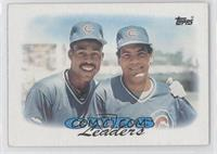1987 Team Leaders - Chicago Cubs