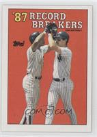 '87 Record Breakers - Don Mattingly