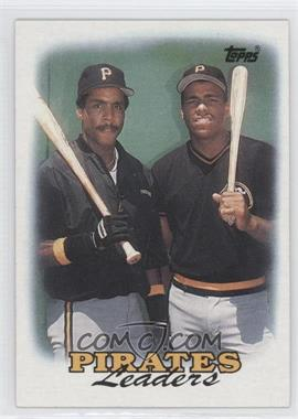 1988 Topps #231 - 1987 Team Leaders - Pittsburgh Pirates