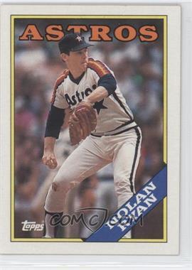 1988 Topps #250 - Nolan Ryan