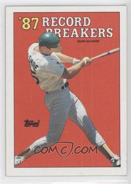 1988 Topps #3.2 - Mark McGwire