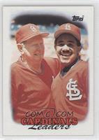 1987 Team Leaders - St. Louis Cardinals