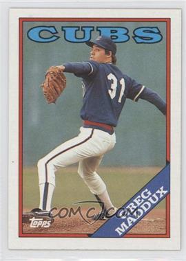 1988 Topps #361 - Greg Maddux