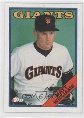1988 Topps #372 - Matt Williams