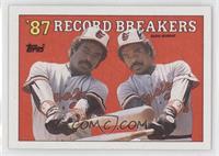 '87 Record Breakers - Eddie Murray (Error: No Black Box on Front)