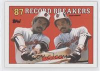 '87 Record Breakers - Eddie Murray (Error: No Black Box on Front)