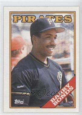 1988 Topps #450 - Barry Bonds