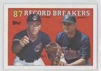 '87 Record Breakers - Phil Niekro, Joe Niekro