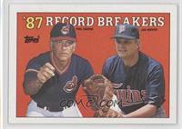'87 Record Breakers - Phil Niekro, Joe Niekro