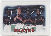 1987 Team Leaders - Atlanta Braves