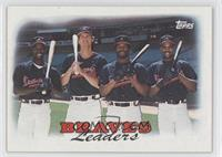 1987 Team Leaders - Atlanta Braves
