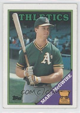 1988 Topps #580 - Mark McGwire