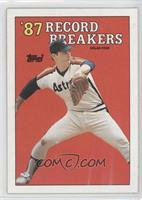 '87 Record Breakers - Nolan Ryan