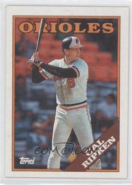 1988 Topps #650 - Cal Ripken Jr.