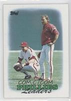 1987 Team Leaders - Philadelphia Phillies